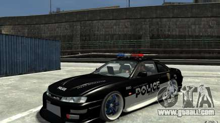 Nissan 200SX Police v0.2 for GTA 4