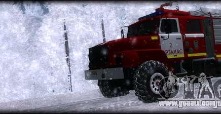 Ural 43206 AC 3.0-40 for GTA San Andreas