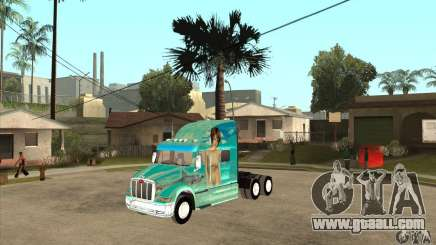 Peterbilt 387 skin 4 for GTA San Andreas
