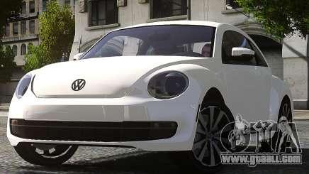 Volkswagen Beetle Turbo 2012 for GTA 4