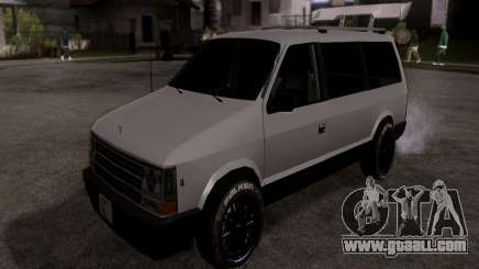 Plymouth Grand Voyager 1970 for GTA San Andreas