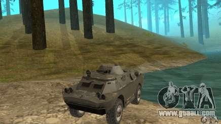 BRDM-2 winter version for GTA San Andreas