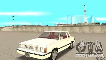 Dodge Aries 1983 for GTA San Andreas
