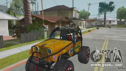 Jeep CJ-7 4X4 for GTA San Andreas