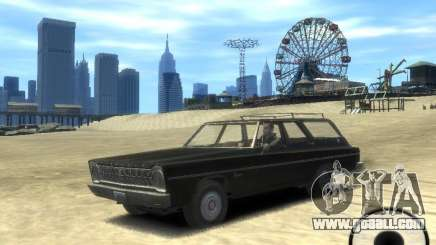 Plymouth Belvedere Wagon 1965 v1.0 for GTA 4