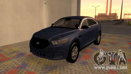 Ford Taurus Interceptor Unmarked 2013 for GTA San Andreas