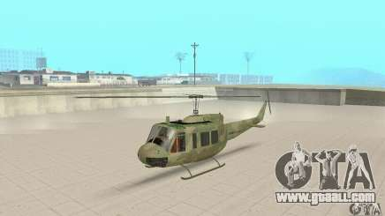 UH-1 Iroquois (Huey) for GTA San Andreas