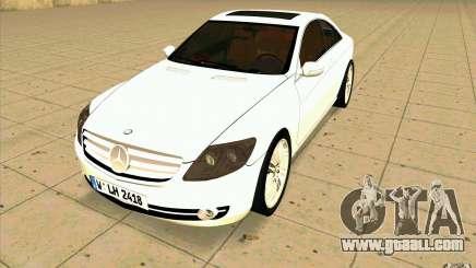 Mercedes Benz CL 500 for GTA San Andreas