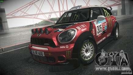 Mini Countryman WRC for GTA San Andreas