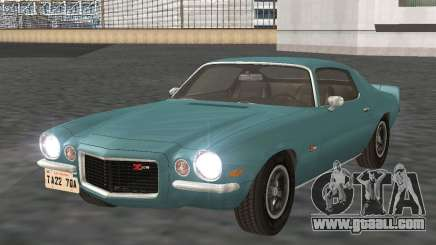 Chevrolet Camaro Z28 1971 for GTA San Andreas