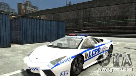 Lamborghini Reventon LCPD for GTA 4
