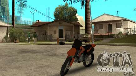 KTM SX250 for GTA San Andreas