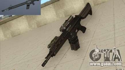 HK416 rifle for GTA San Andreas