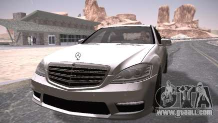Mercedes Benz S65 AMG 2012 for GTA San Andreas