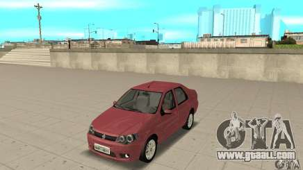 Fiat Siena HLX 1.8 Flex for GTA San Andreas