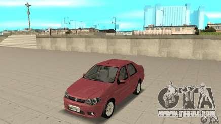 Fiat Siena HLX 1.8 Flex for GTA San Andreas
