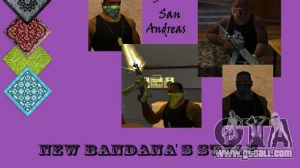 New Bandanas Style for GTA San Andreas
