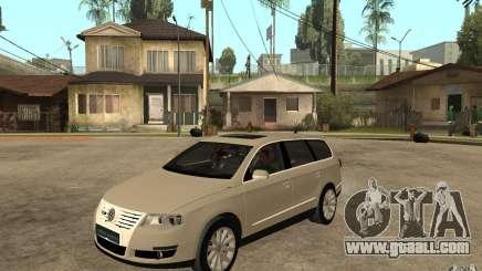 Volkswagen Passat Variant 2010 for GTA San Andreas