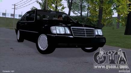 Mercedes-Benz 600SEL for GTA San Andreas