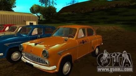 Moskvich 403 Taxi for GTA San Andreas