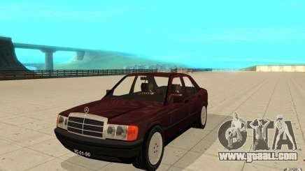 Mercedes-Benz 190 E (W201) 1984 version 1.0 for GTA San Andreas