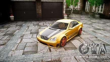 Mercedes Benz CLK63 AMG Black Series 2007 for GTA 4