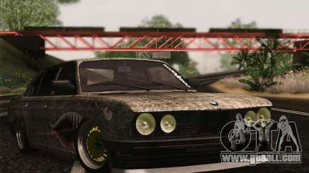 BMW E28 525E RatStyle for GTA San Andreas