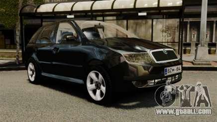 Skoda Fabia Combi Unmarked ELS for GTA 4