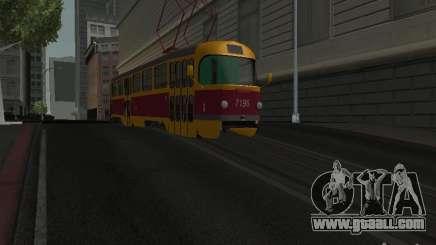 Tatra T3 for GTA San Andreas