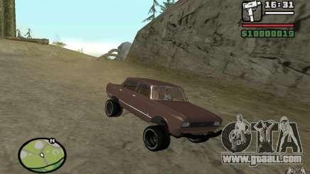 AZLK-2140 4x4 for GTA San Andreas
