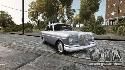 Mercedes-Benz W111 for GTA 4