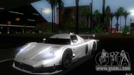 Maserati MC12 GT1 for GTA San Andreas