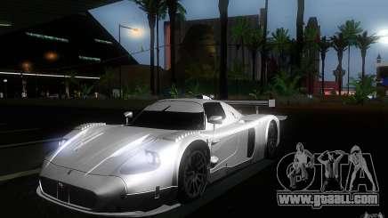 Maserati MC12 GT1 for GTA San Andreas