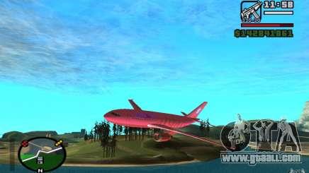 Airbus A-310 S7 SanFierroAir for GTA San Andreas