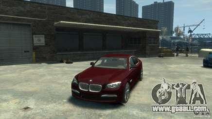 BMW 750i (F01) for GTA 4