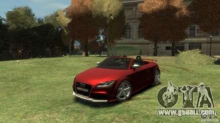 Audi TT RS Roadster for GTA 4