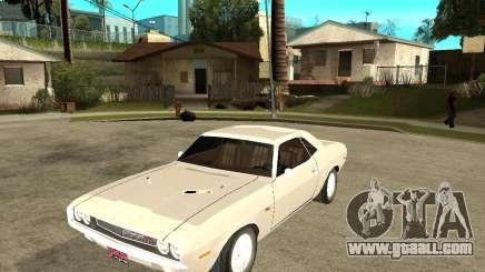 Dodge Challenger R/T Hemi 70 for GTA San Andreas