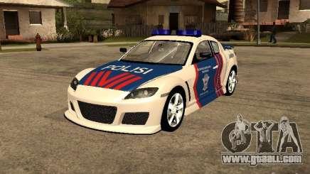 Mazda RX-8 Police for GTA San Andreas