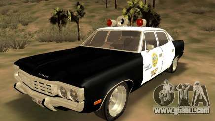 AMC Matador SA Police 1971 Final for GTA San Andreas