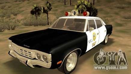 AMC Matador SA Police 1971 Final for GTA San Andreas