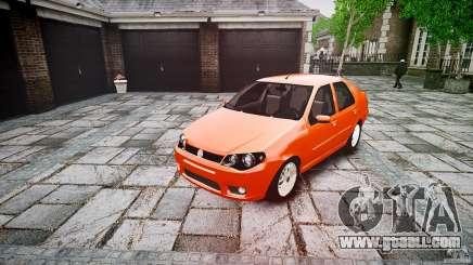 Fiat Albea Sole for GTA 4