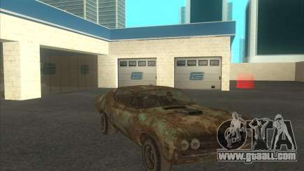 Ford Torino extreme rust 1970 for GTA San Andreas