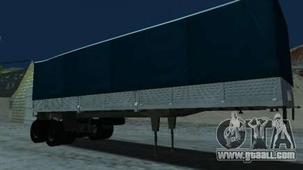 Trailer for Kamaz 5410 for GTA San Andreas