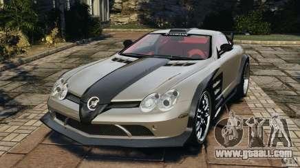 Mercedes-Benz SLR Volcano 2008 Hamann v1.0 for GTA 4