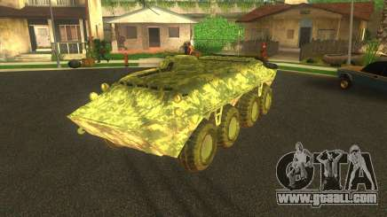 BTR-80 Electronic camouflage for GTA San Andreas
