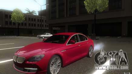 BMW 6 Series Gran Coupe 2013 for GTA San Andreas