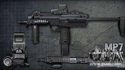 [Point Blank] MP7 for GTA San Andreas