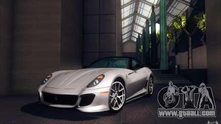 Ferrari 599 GTO 2011 for GTA San Andreas