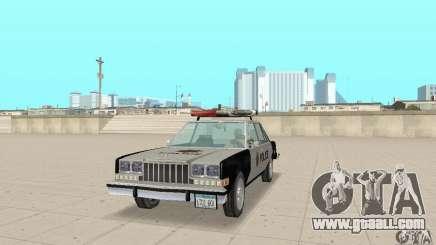Dodge Diplomat 1985 Police for GTA San Andreas