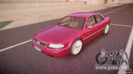 Audi A8 6.0 W12 Quattro (D2) 2002 for GTA 4
